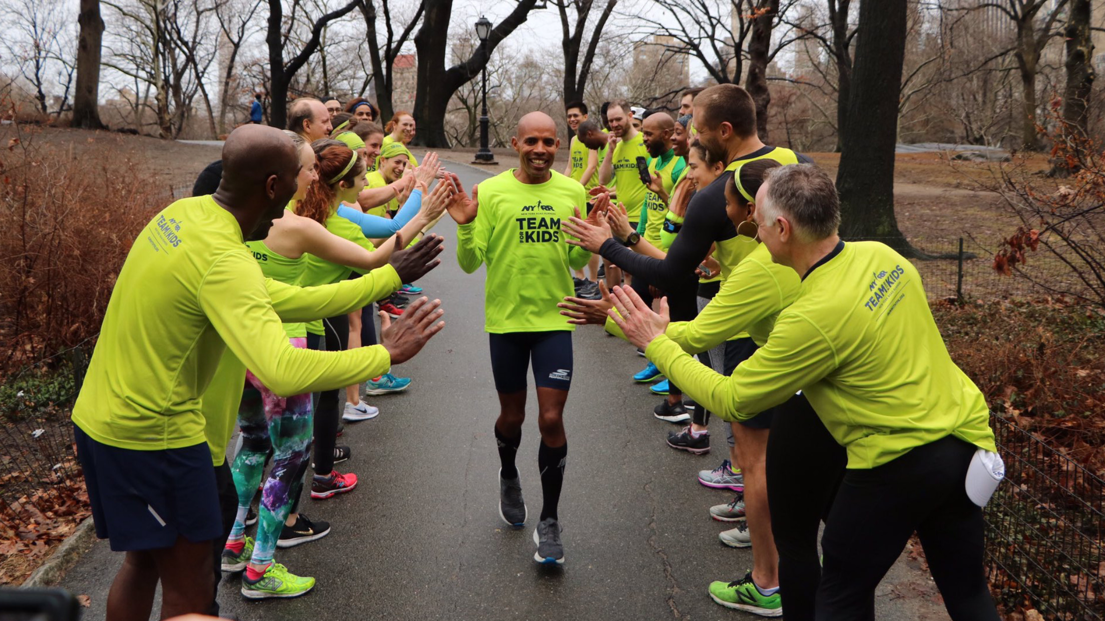Meb is running the New York City Marathon again this year but not up front