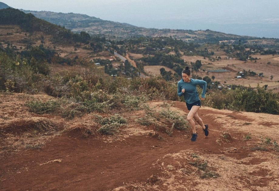 Allie Kieffer trained in Kenya for seven weeks racking up 110 miles weekly
