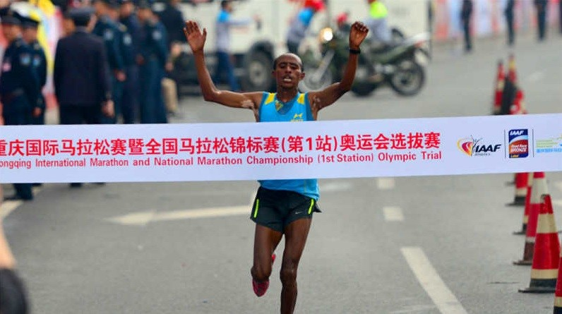 Ethiopian Defending champion Kelkile Gezahegn aims to retain his title at Lanzhou Marathon