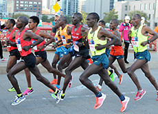 Pacers are being added back to the Chicago Marathon to help get faster times