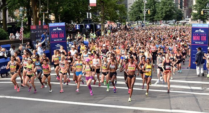For the first time in its 48-year history, the NYRR Mini 10K, will host the USATF 10K championships