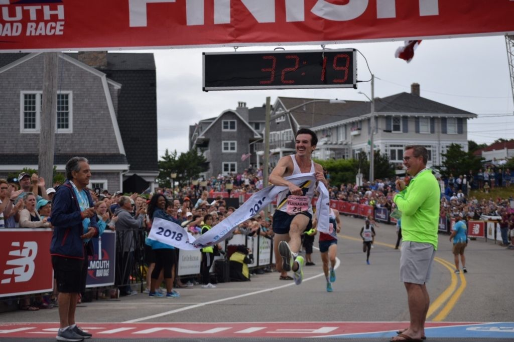Despite Injury, Ben Flanagan is set to return to the Falmouth Road Race