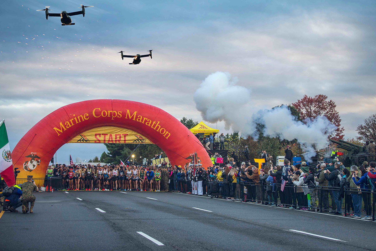 New event from Marine Corps Marathon, The Quantico Crucible 5km