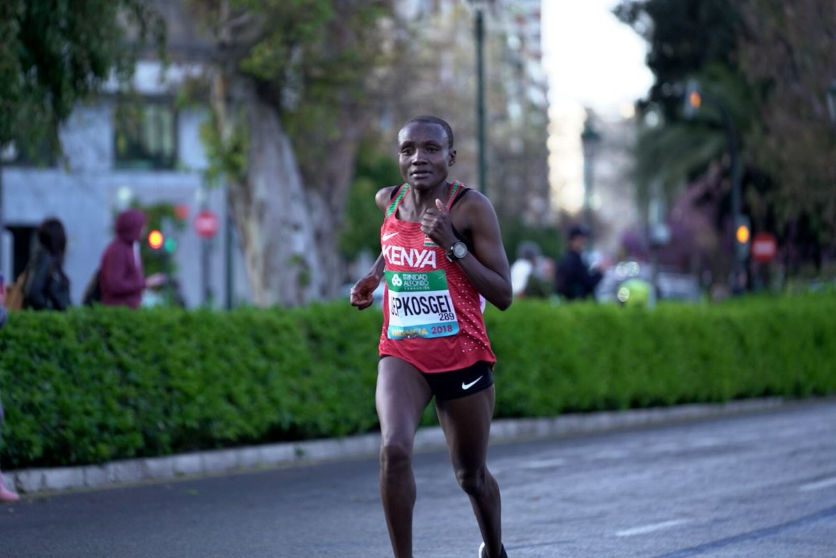 World Half Marathon record holder Joyciline Jepkosgei will headline the star-studded field at the United Airlines New York City Half on March 17