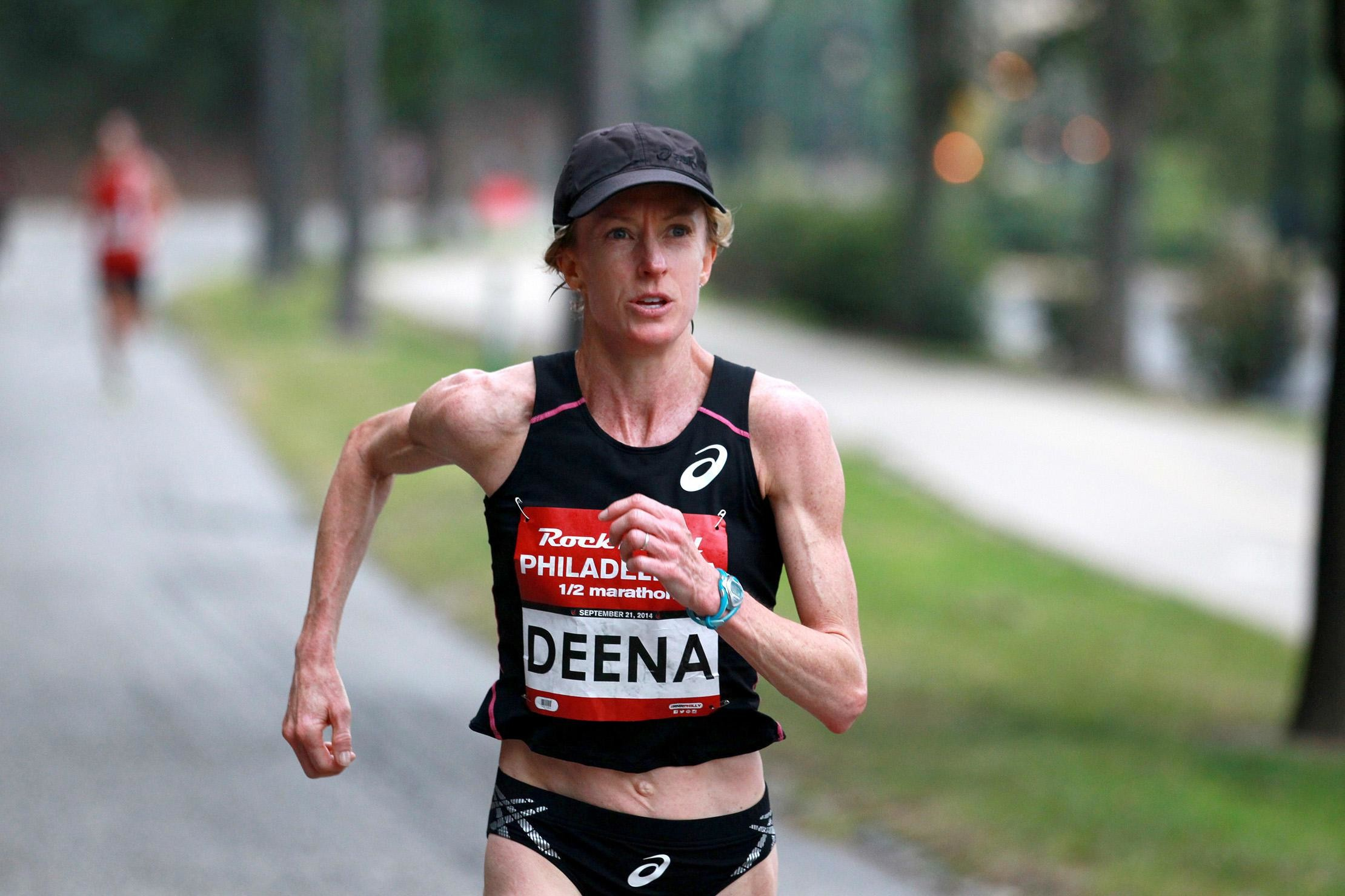 American marathon record holder Deena Kastor has been writing and decided in December to run Boston