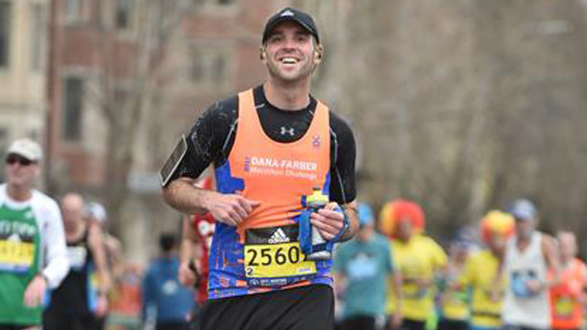 Brad Caswell is running Boston again after losing 90 pounds and feeling better than ever