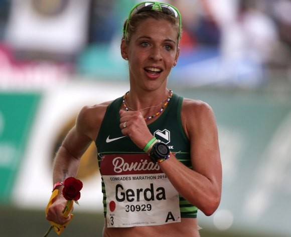 South African marathon runner Gerda Steyn is training and staying positive ahead of Tokyo Olympics