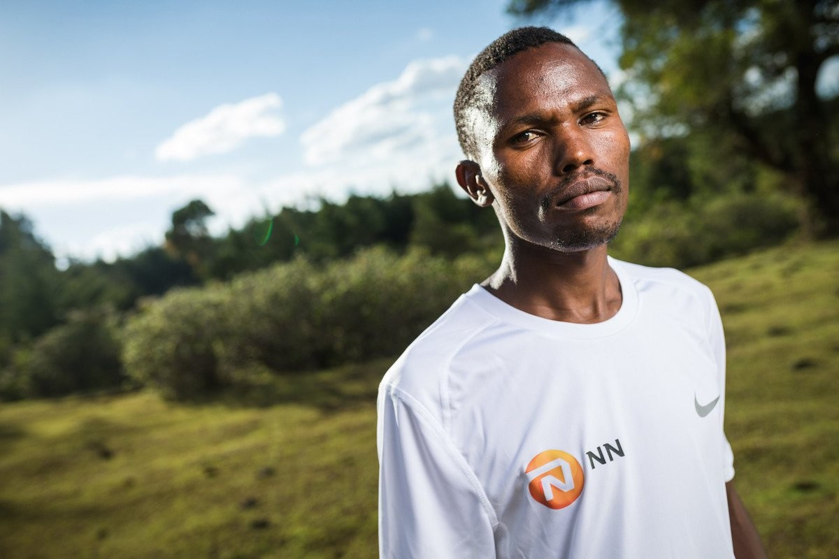 Kenyan Laban Korir is eyeing gold at debut in the World Marathon Championships
