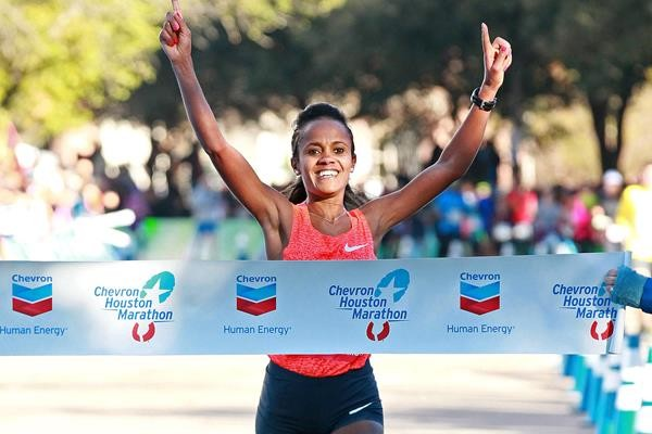 Top two women's seeds drop out of Houston Marathon