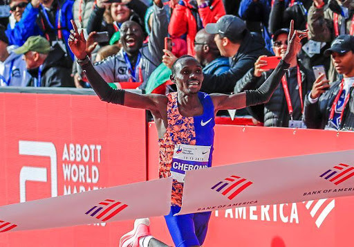 Chicago Marathon champion Lawrence Cherono will replace injured Farah, to battle Bekele in London Half Marathon