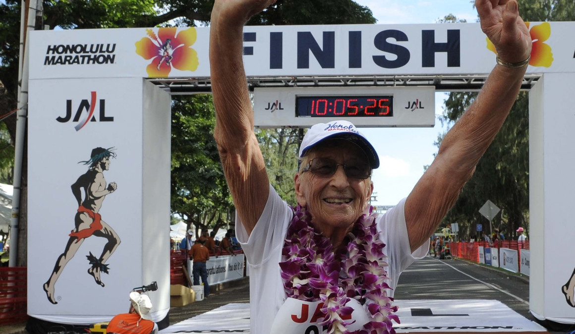 Gladys Burrill, the oldest woman to have competed a marathon has died at age 100