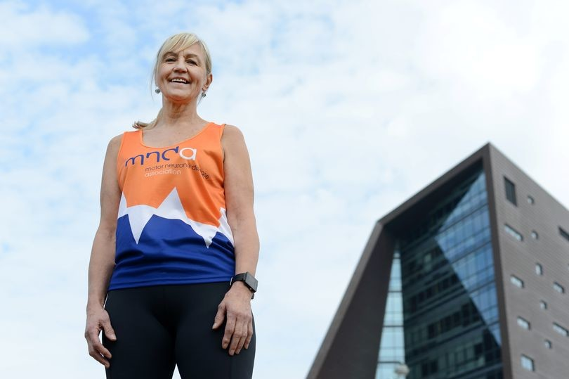 An accidental marathon runner and grandmother is running London in memory of a friend