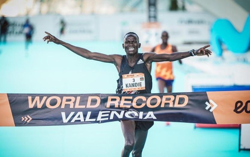 Half marathon  world record holder Kibiwott Kandie eyes Olympics 10,000m title