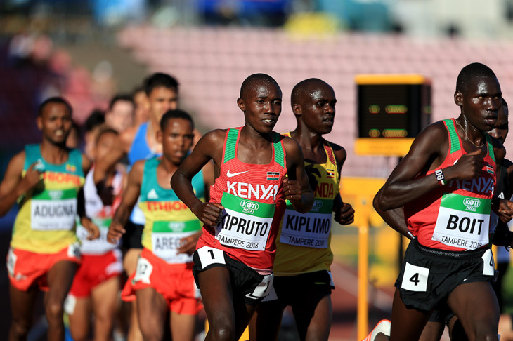 Three-time World Half Marathon champion Geoffrey Kamworor and World Under-20 10000m champion Rhonex Kipruto to renew rivalries with Doha tickets on the line