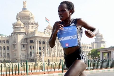 World half marathon champion and record holder Peres Jepchirchir is ready to return to racing after a 18 month break