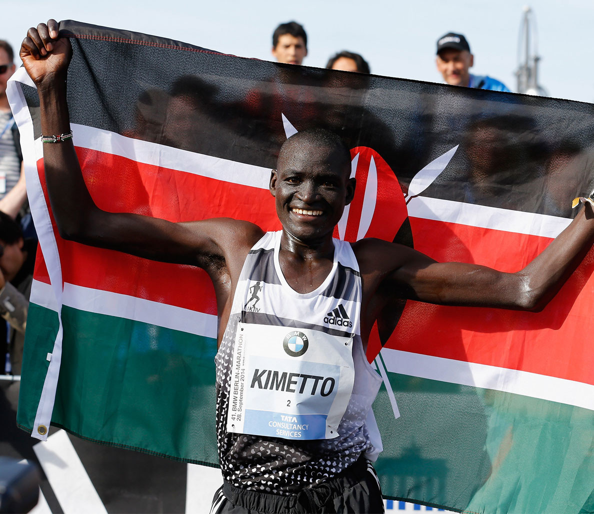 World record holder Dennis Kimetto is going to run the Vienna City Marathon