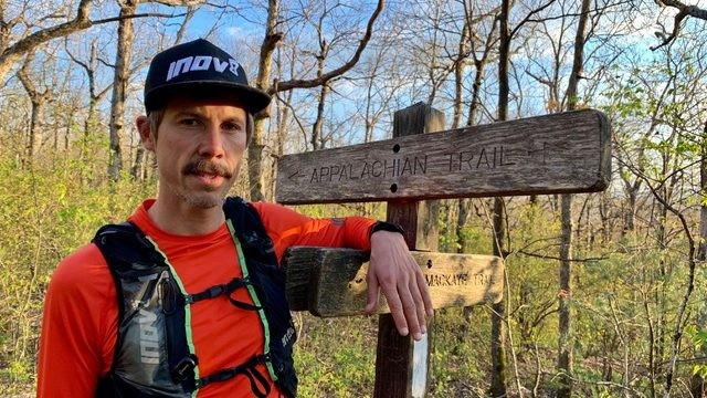 British athlete Kristian Morgan is aiming to set a new world record for running the iconic 2,189-mile Appalachian Trail