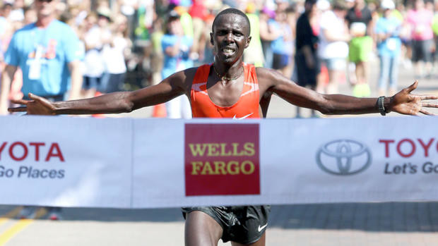 Kenya's Elisha Barno will be going after his fifth win at the Grandma's Marathon June 22