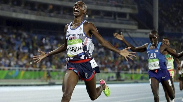 Mo Farah: Briton returns to track to take on hour record