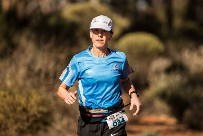 Barabara Fieberg, who once struggled to do 5km shows women how to go the distance later in life