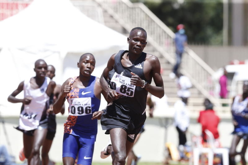 Kibiwott Kandie shine at Athletics Kenya meet