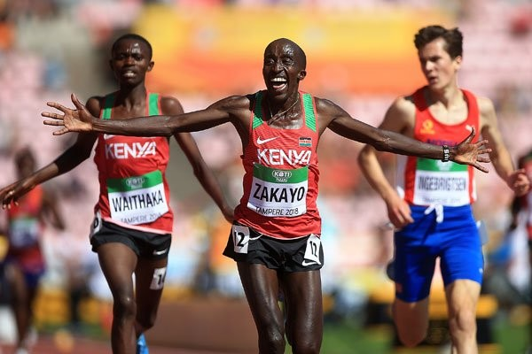 Africa 5,000 meters champion Edward Zakayo hopes he will have fully recovered from an injury, to battle for Worlds tickets
