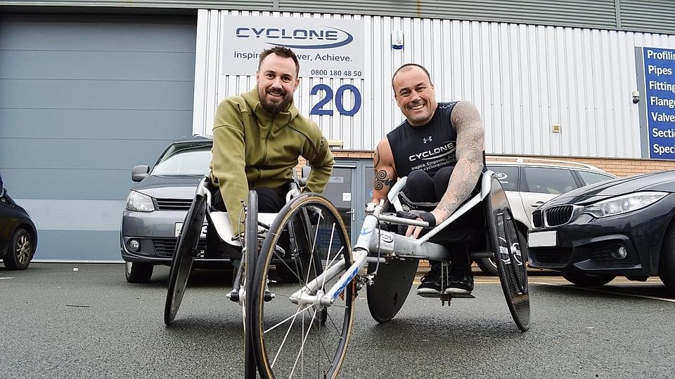 A man paralysed from the waist down after the Manchester Arena bombing is taking part in the Simplyhealth Great Manchester Run