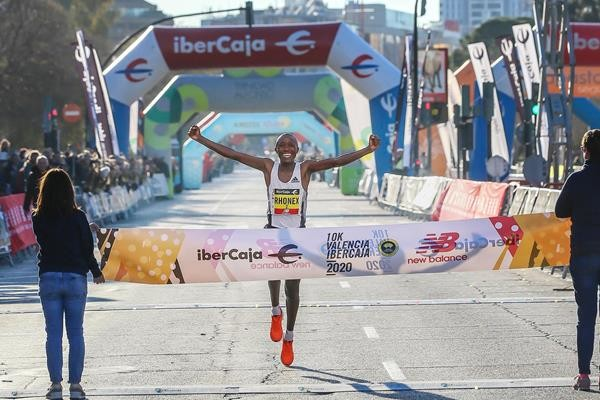 Rhonex Kipruto's world records over 5km (13:18) and 10km (26:24), have been ratified