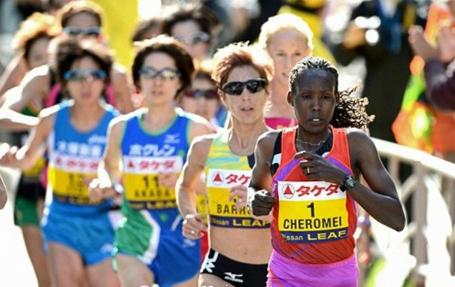 Kenya's Lydia Cheromei is ready to return and win the women's title at the Shanghai Marathon