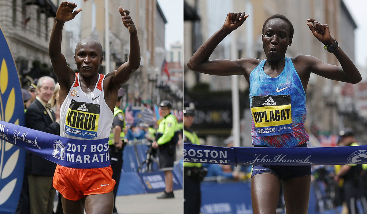 Kiplagat and Kirui to defend Boston Marathon Titles