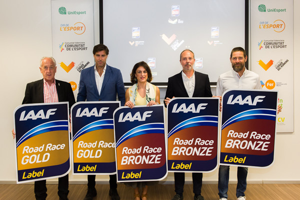 Valencia Trinidad Alfonso race earns its fifth IAAF label for road races in the Spanish city