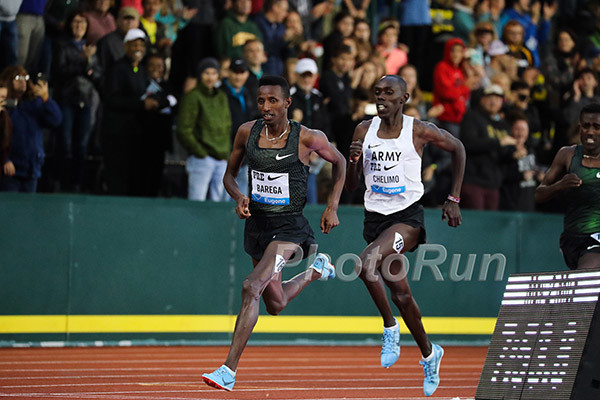 Selemon Barega is going to defend his two-mile title at the Prefontaine Classic at Stanford and Yomif added to mile field