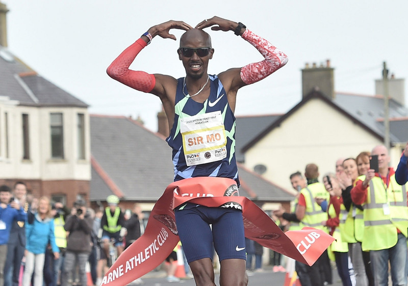 Mo Farah set to defend Antrim Coast crown as Half Marathon granted elite world status