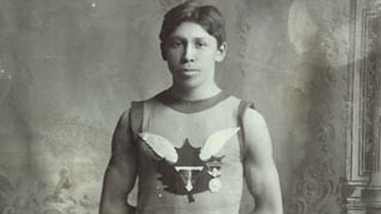 The 1907 Boston Marathon Winner Tom Longboat earlier hated life at a state-run school and ran away