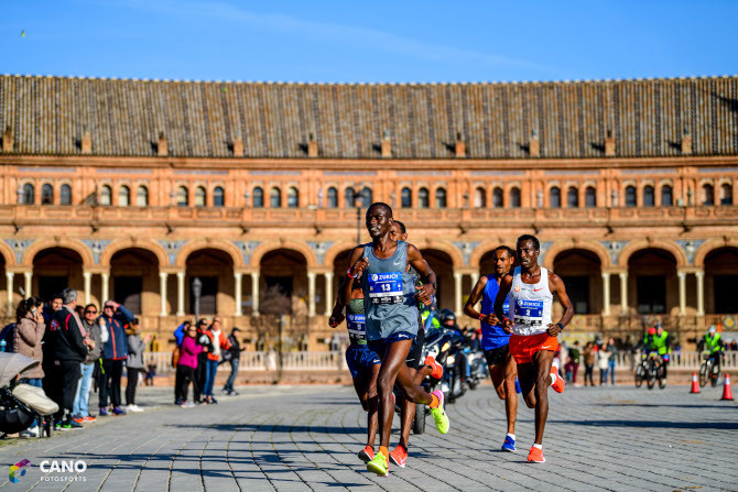 Ethiopian and Kenyans contingents are expected to battle  at the 37th Zurich Maratón de Sevilla on Sunday