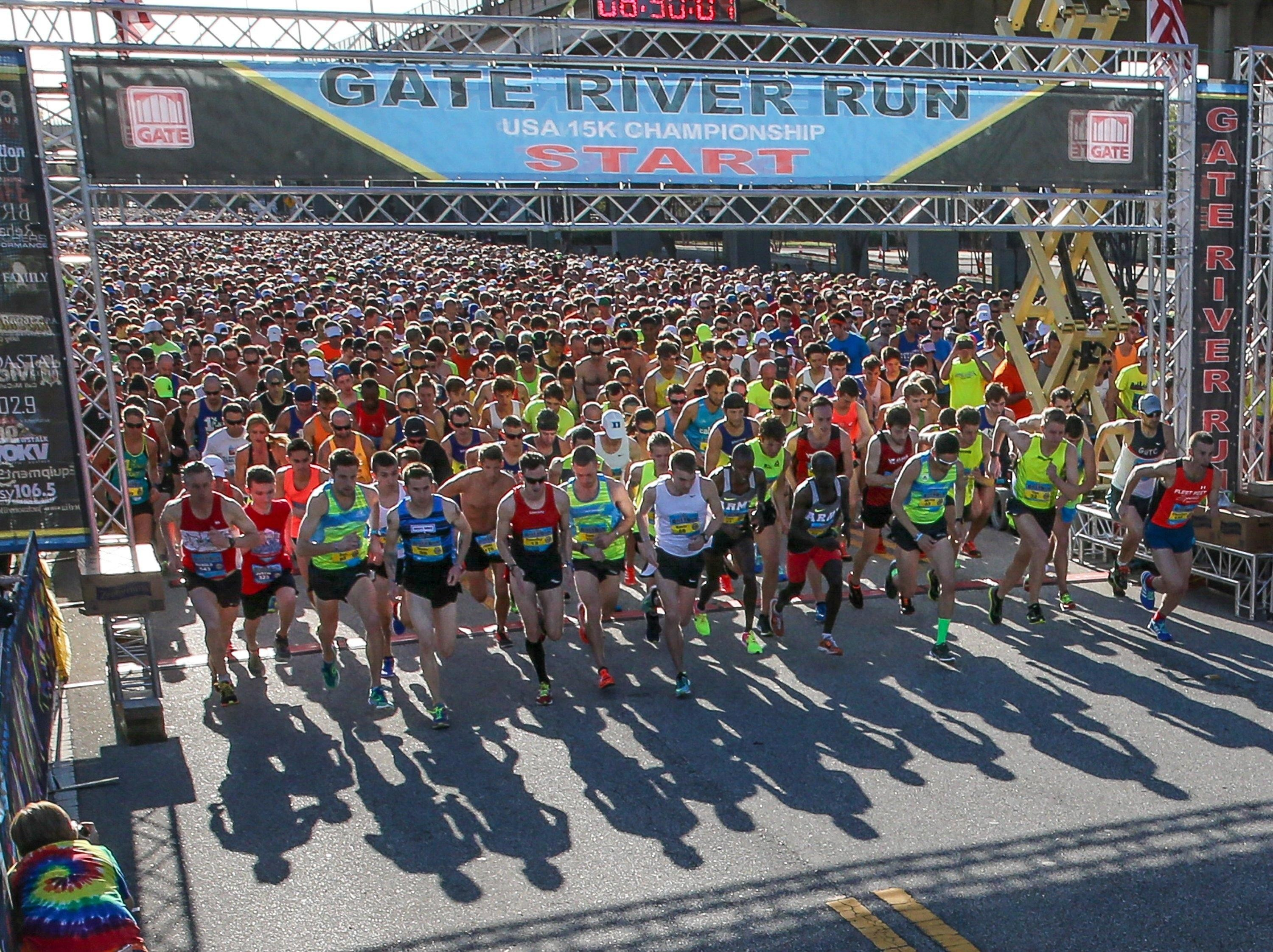 There is a group of 33 runners called the Streakers who have finished every Gate River Run