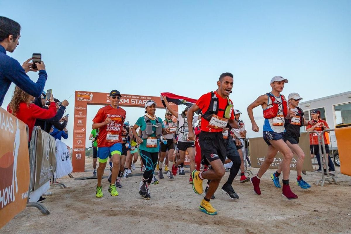 The winner of the 300km Al Marmoom Ultramarathon is going to win $100,000 at this year ultra event