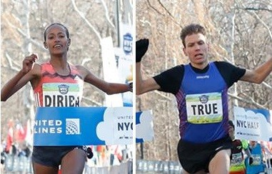 Defending Champions Ben True, Buze Diriba, Ernst van Dyk, and Manuela Schär will Return for defending titles at 2019 United Airlines NYC Half