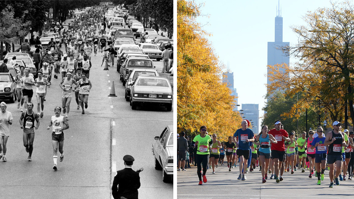 The Chicago Marathon was not always a first class marathon like it is today