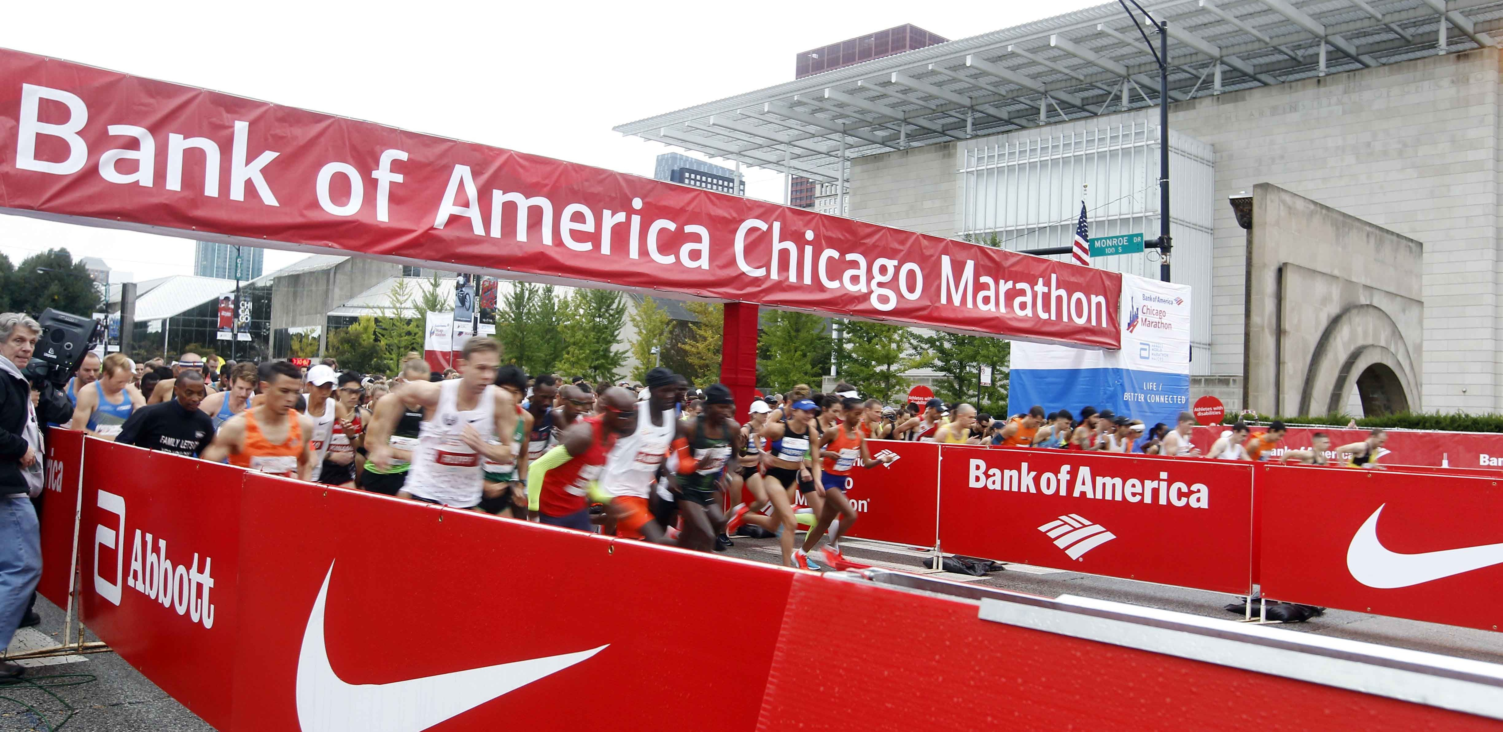 The forecasted ideal temperatures will aid fast times at Chicago Marathon however it could be windy