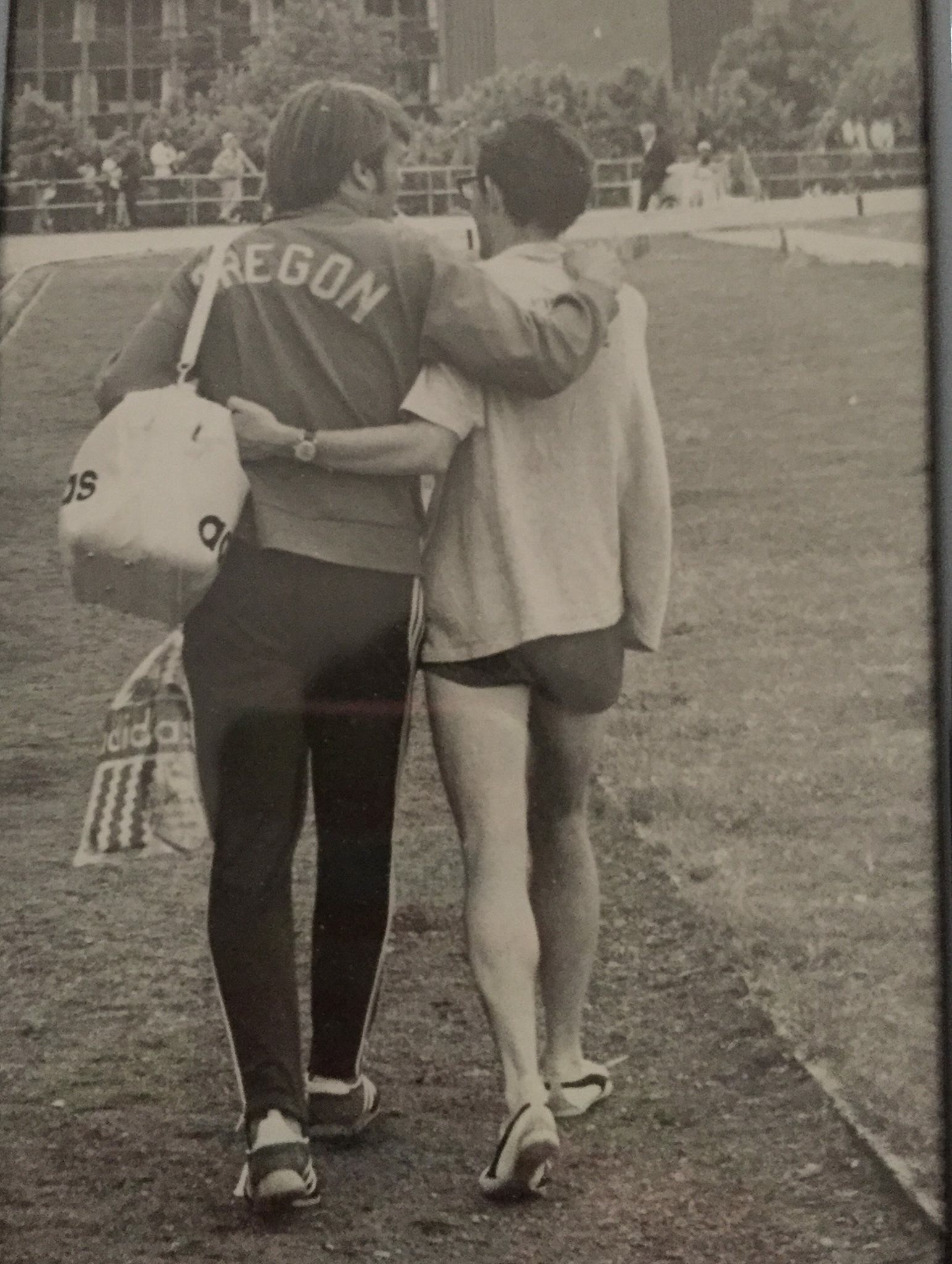 Steve Prefontaine's sister's favorite photo of her brother is not one of him crossing the finish line