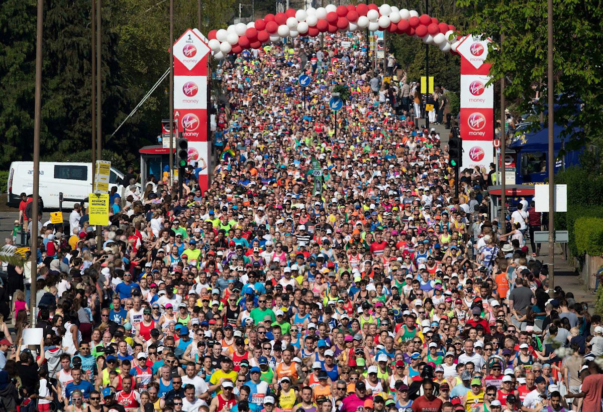 The London Marathon has been postponed this year to Oct 4 due to the coronavirus pandemic