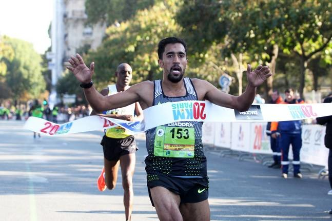 France's Morhad Amdouni is going after his second title at the 40th edition of 20km de Paris