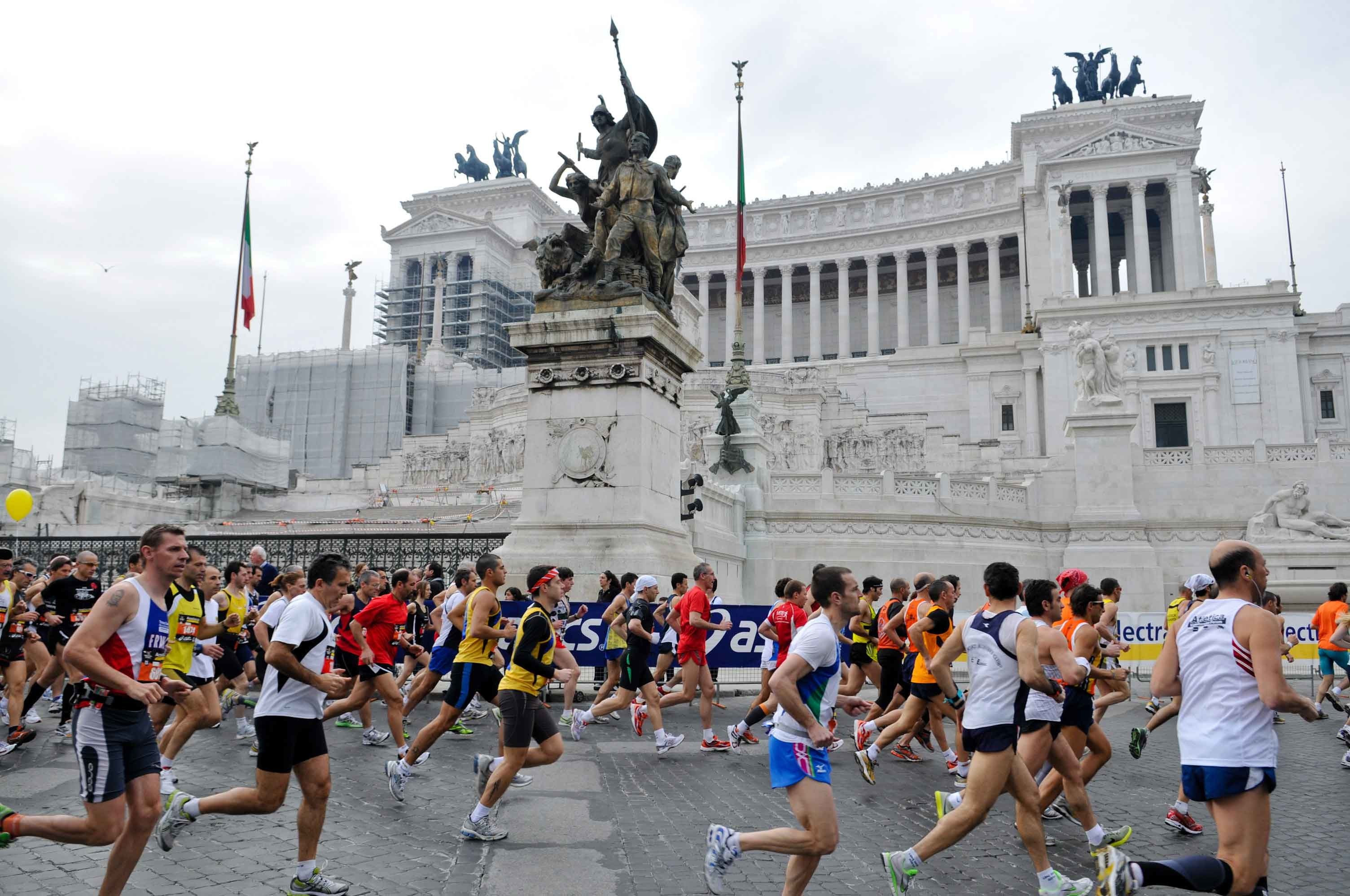 A strong Elite Field will take on the 24th Annual Rome Marathon