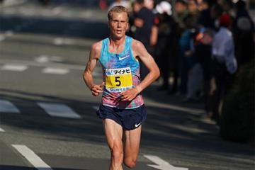 Sondre Nordstad Moen of Norway easily won the Gdynia Half Marathon
