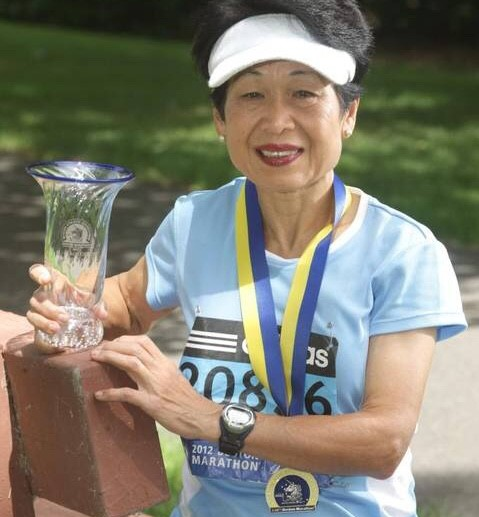 71-year-old Marin Wang says that the Paris Marathon will be her last