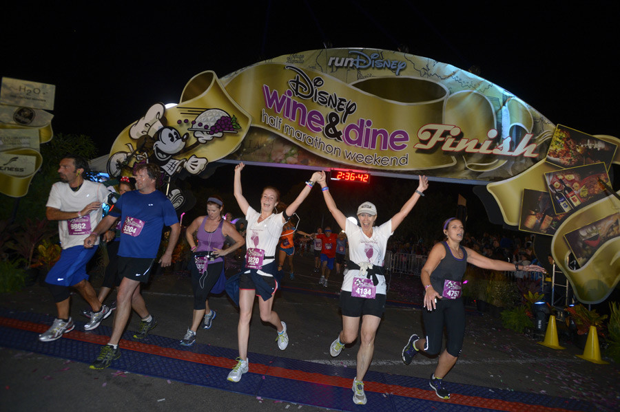runDisney has announced that this year's Disney Wine & Dine Half Marathon Weekend will transition to a virtual event