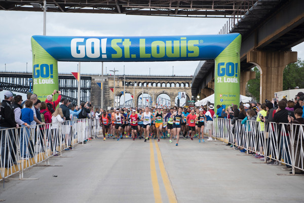 This year, GO! St. Louis Marathon has changed the course due to flooding conditions