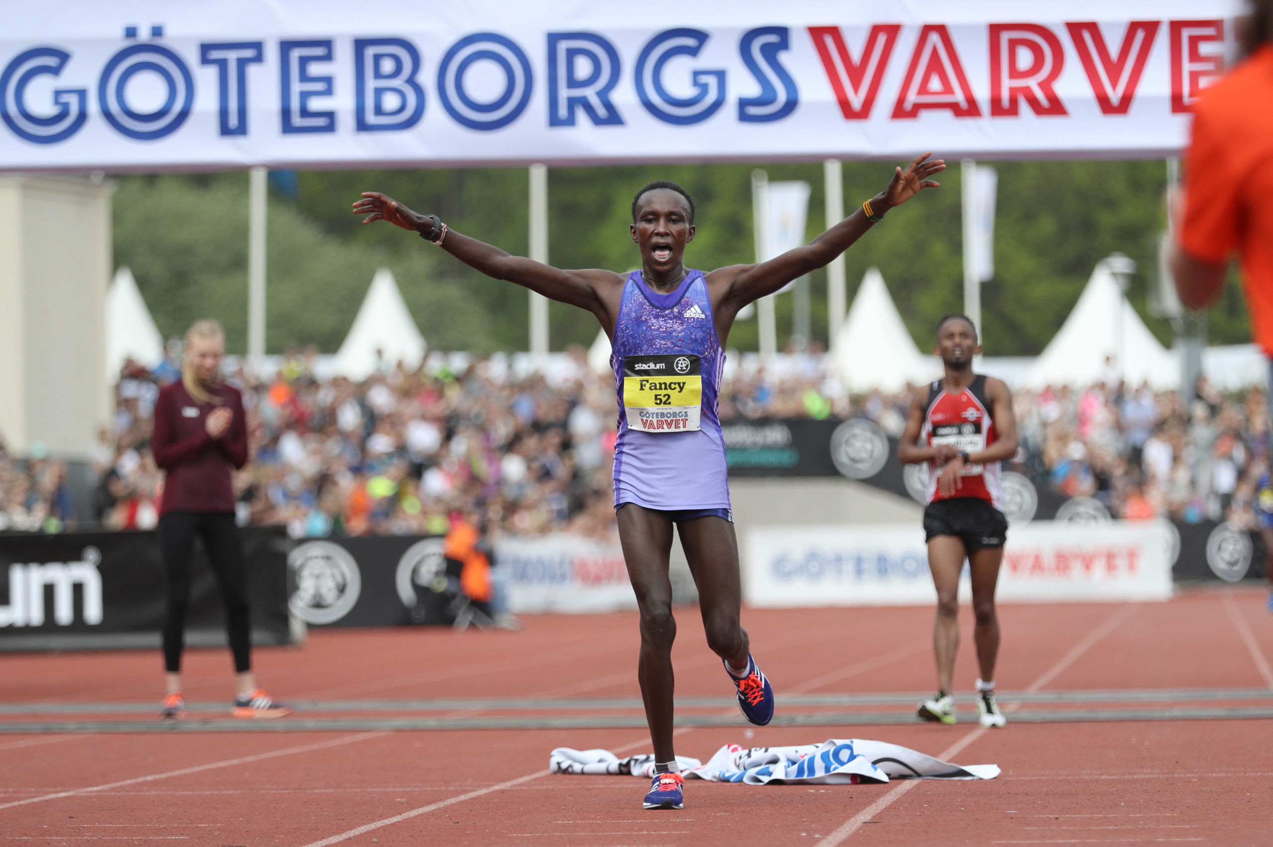 Former World Half Marathon bronze medalist Fancy Chemutai will compete in her second half marathon in Prague