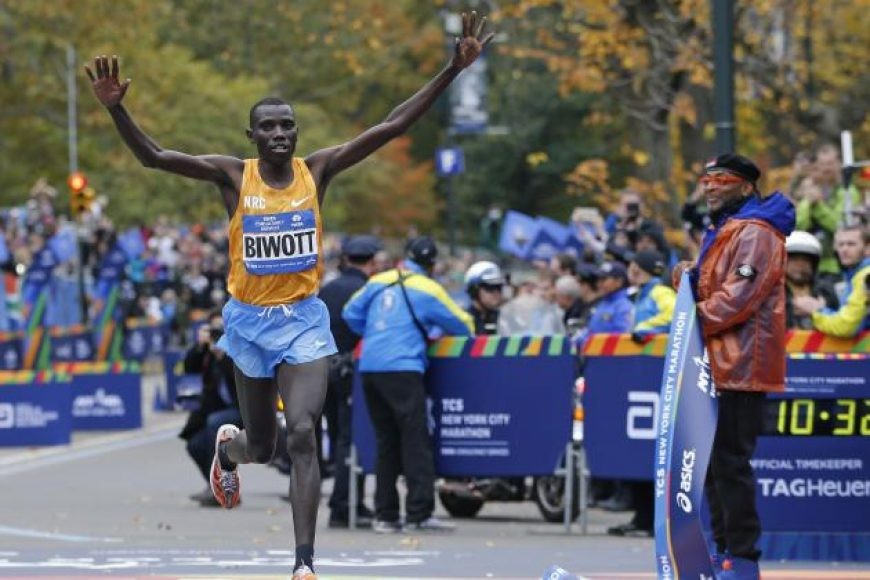 Former New York Marathon champion Stanley Biwott has recovered from a leg injury and will be on the front line at the  Great North Run